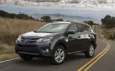 Кроссовер Toyota RAV4 – модель нового поколения