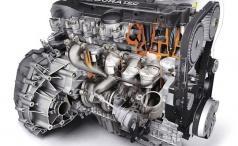 Распределительный механизм форсированного двигателя