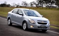 Chevrolet Cobalt начинает покорение России